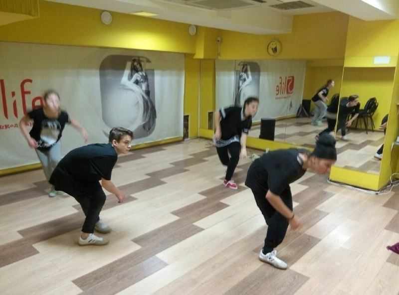 Танцы для детей от 6 лет - хип-хоп в 5Life