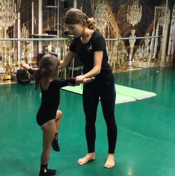 Детская хореография в школе 5Life c Забродней Катей