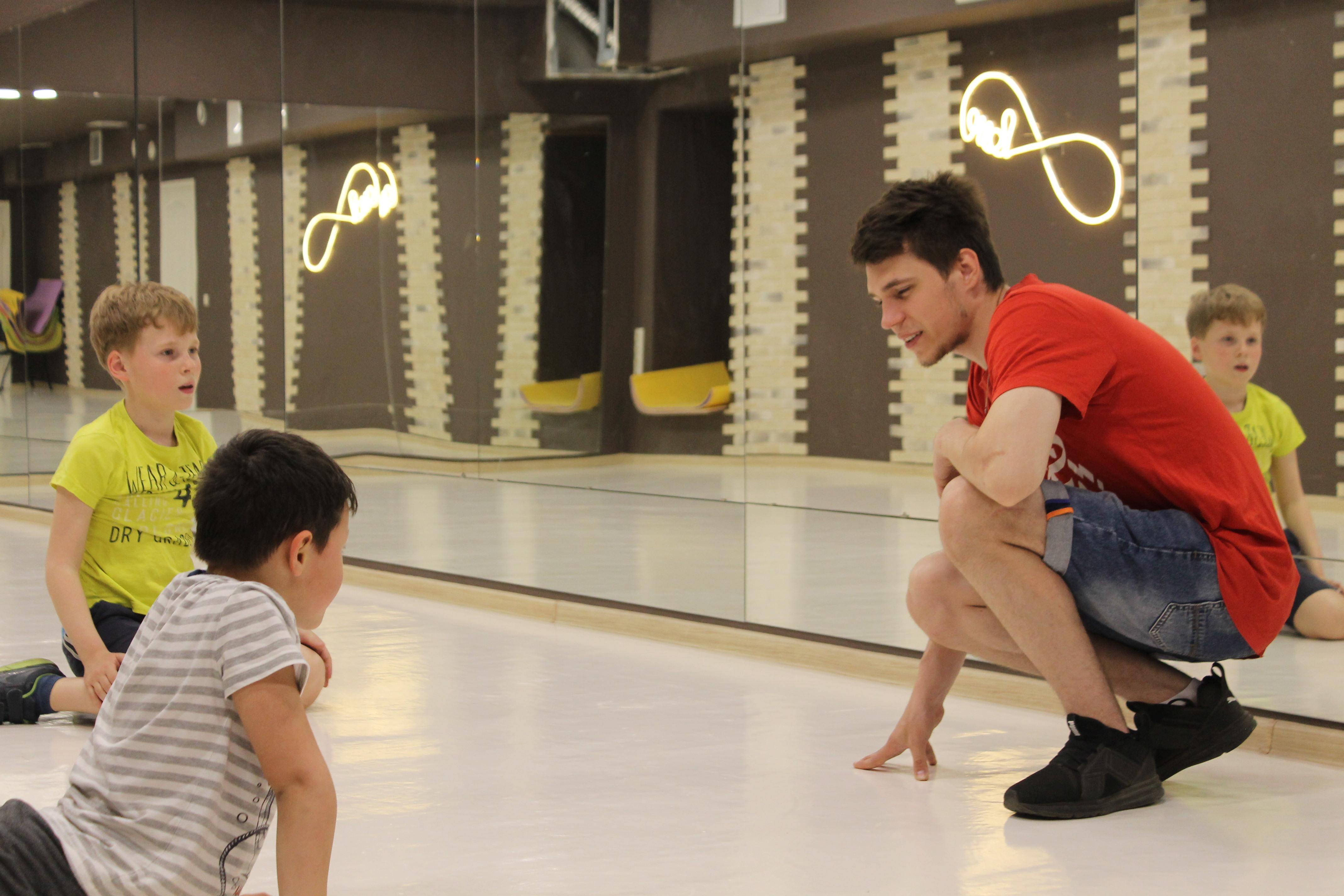 Занятия для детей в студии танца 5Life